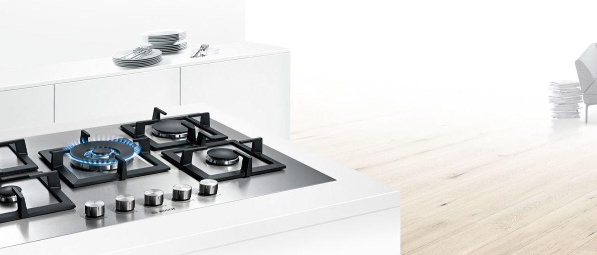 Cocina a Gas de Moderno Diseño