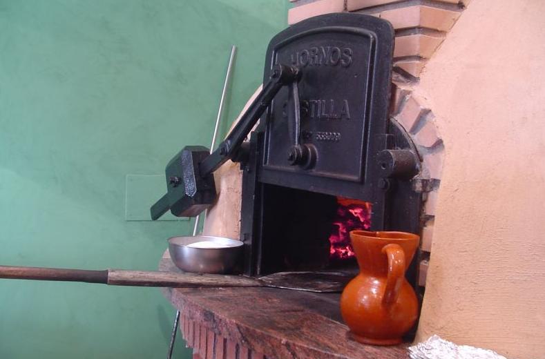 Horno de leña del Asador San Lorenzo