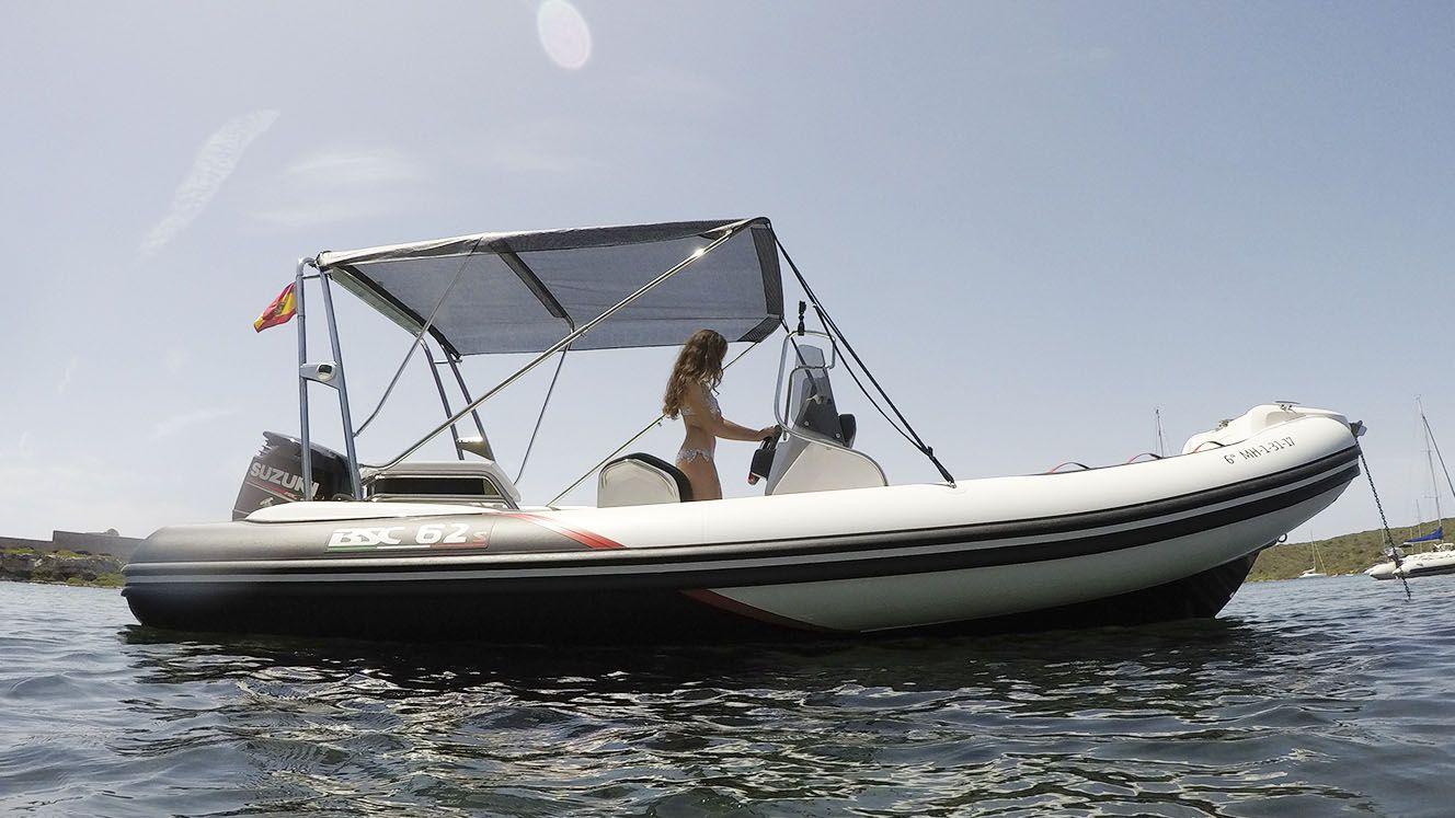 Modelo BSC 62 Sport: Nuestros barcos de Menorca Mar & Charter