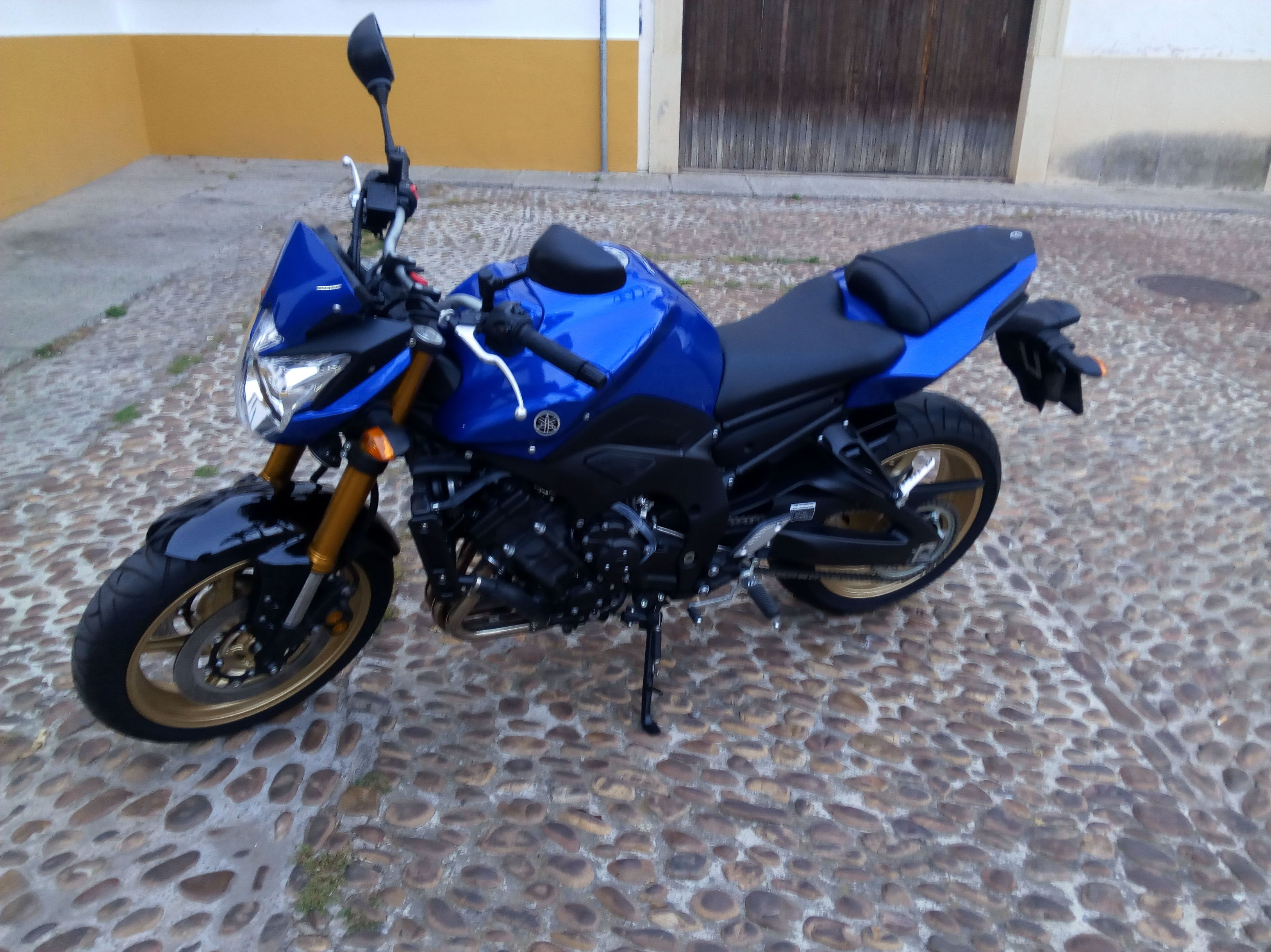 Yamaha fz8 para permiso A