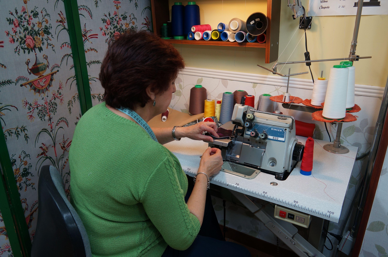 Taller de costura en Madrid