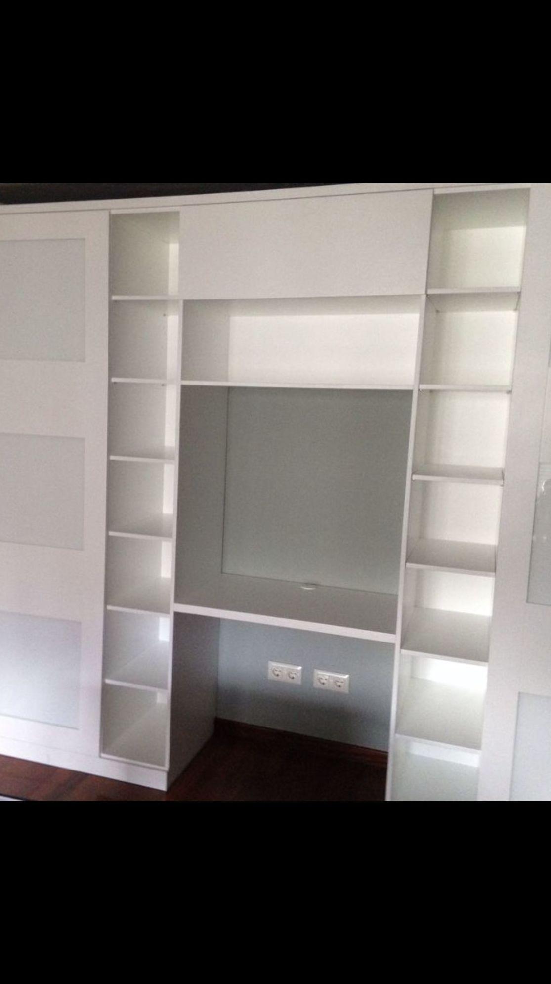 Lacado en color blanco e instalado
