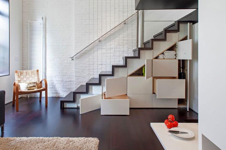 armarios bajo la escalera