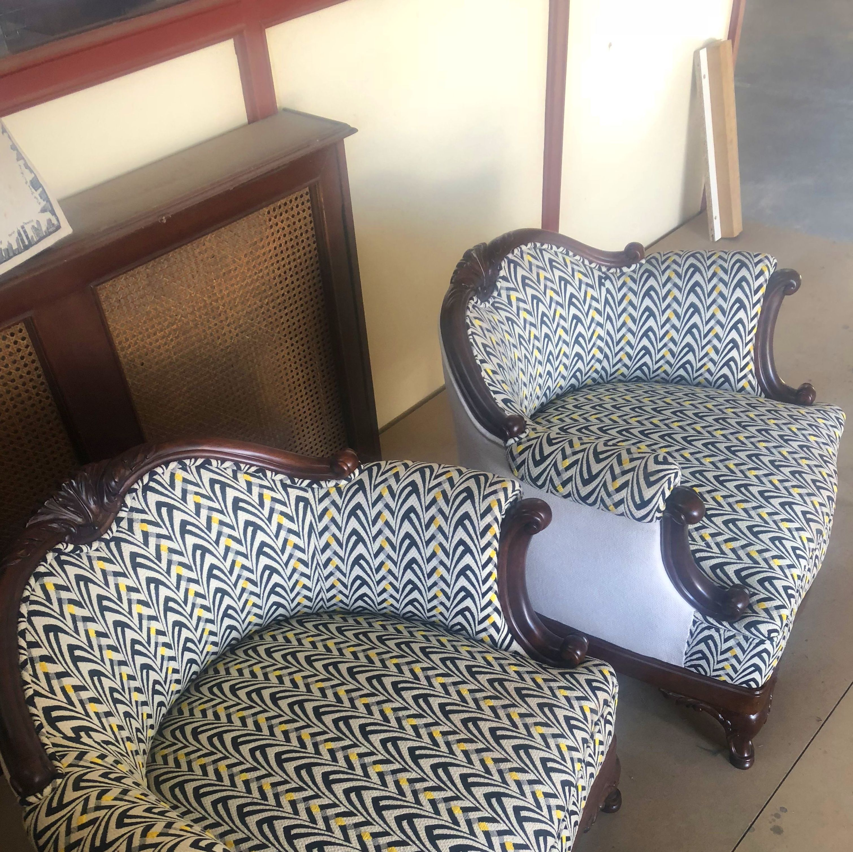 Restauramos muebles, butacas restauradas