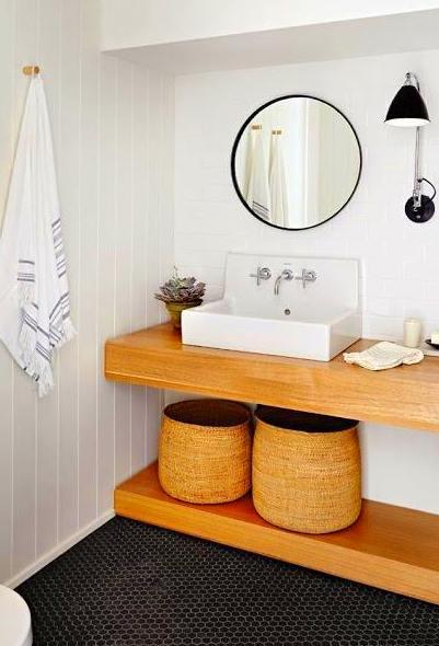 baldas para el lavabo