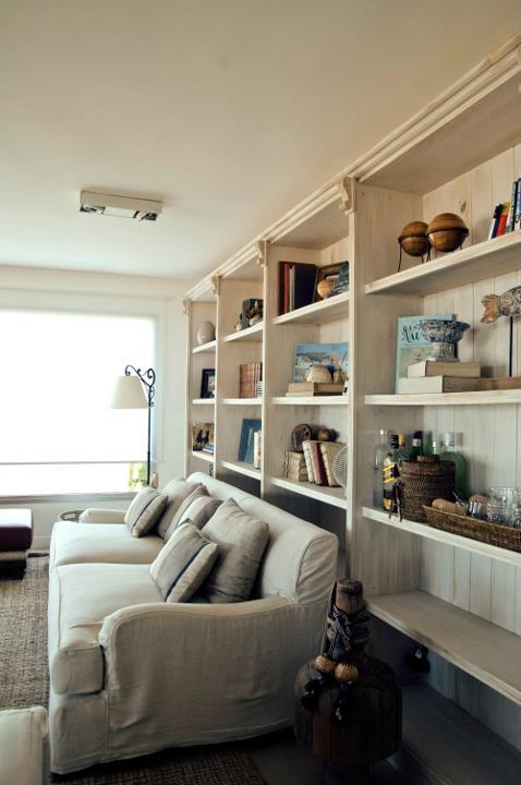 Mueble estantería salón Antonio Lugo