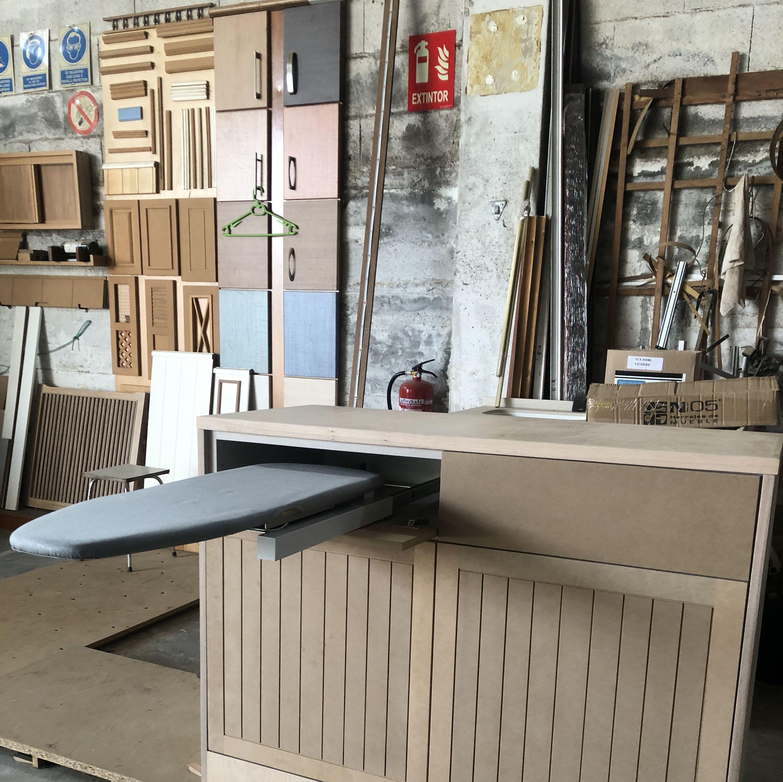 Mueble plancha sin barnizar