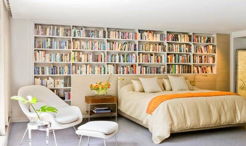 devoras libros?? convierte tu dormitorio en biblioteca