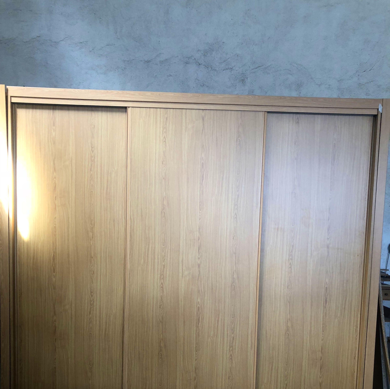 Exterior armario empotrado, puertas correderas