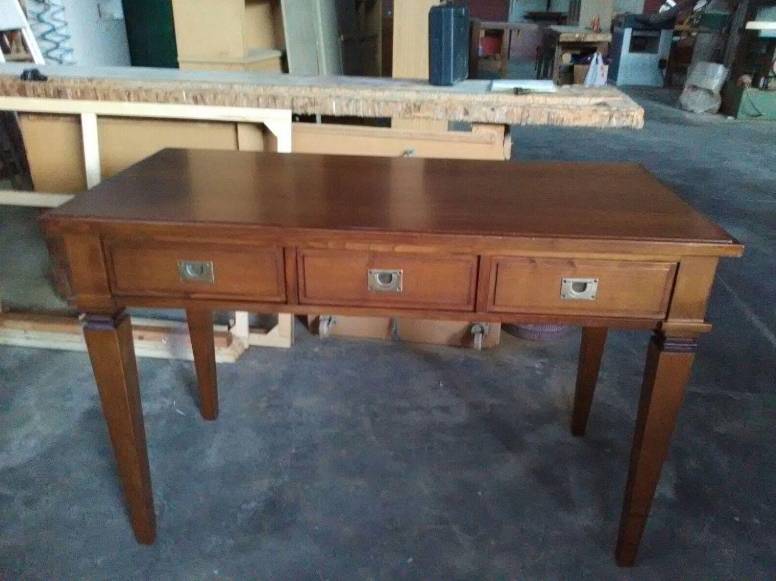 Mesa escritorio restaurada