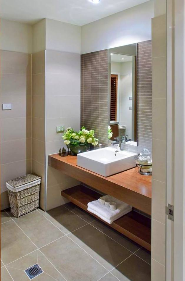sencillez para el mueble de lavabo