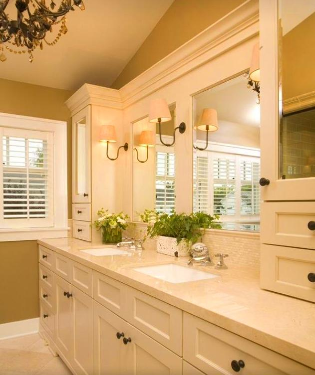 clasico y elegante mueble de baño
