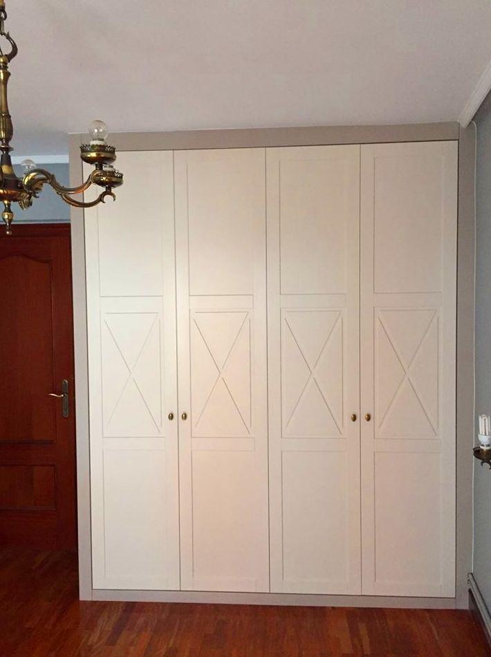 armario con aspas ciegas