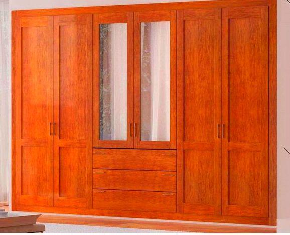 armario clásico en cerezo