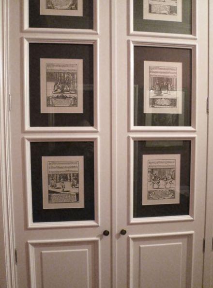 armarios con láminas en las puertas Antonio Lugo