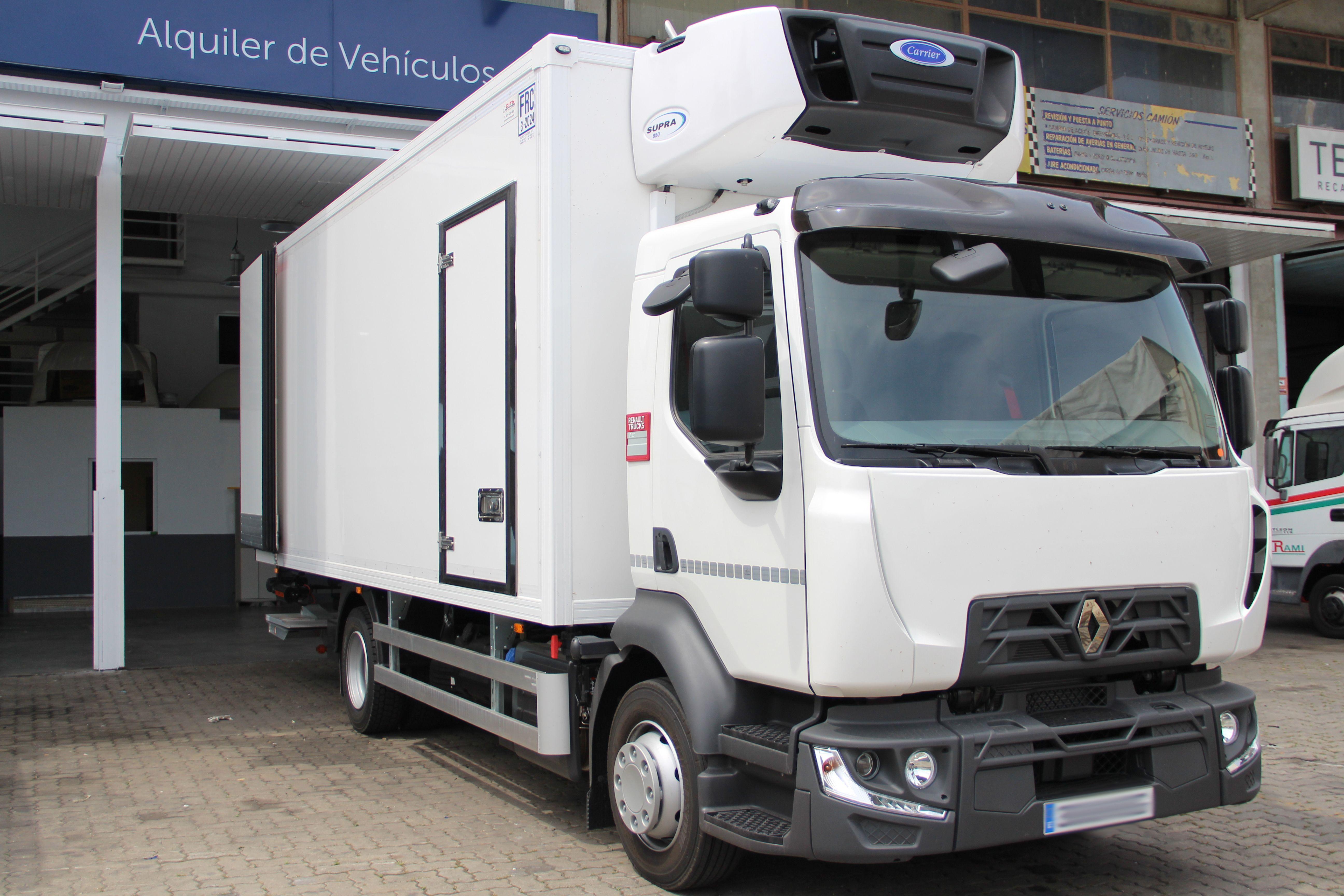 Empresa de transporte frigorífico en Alcalá de Henares