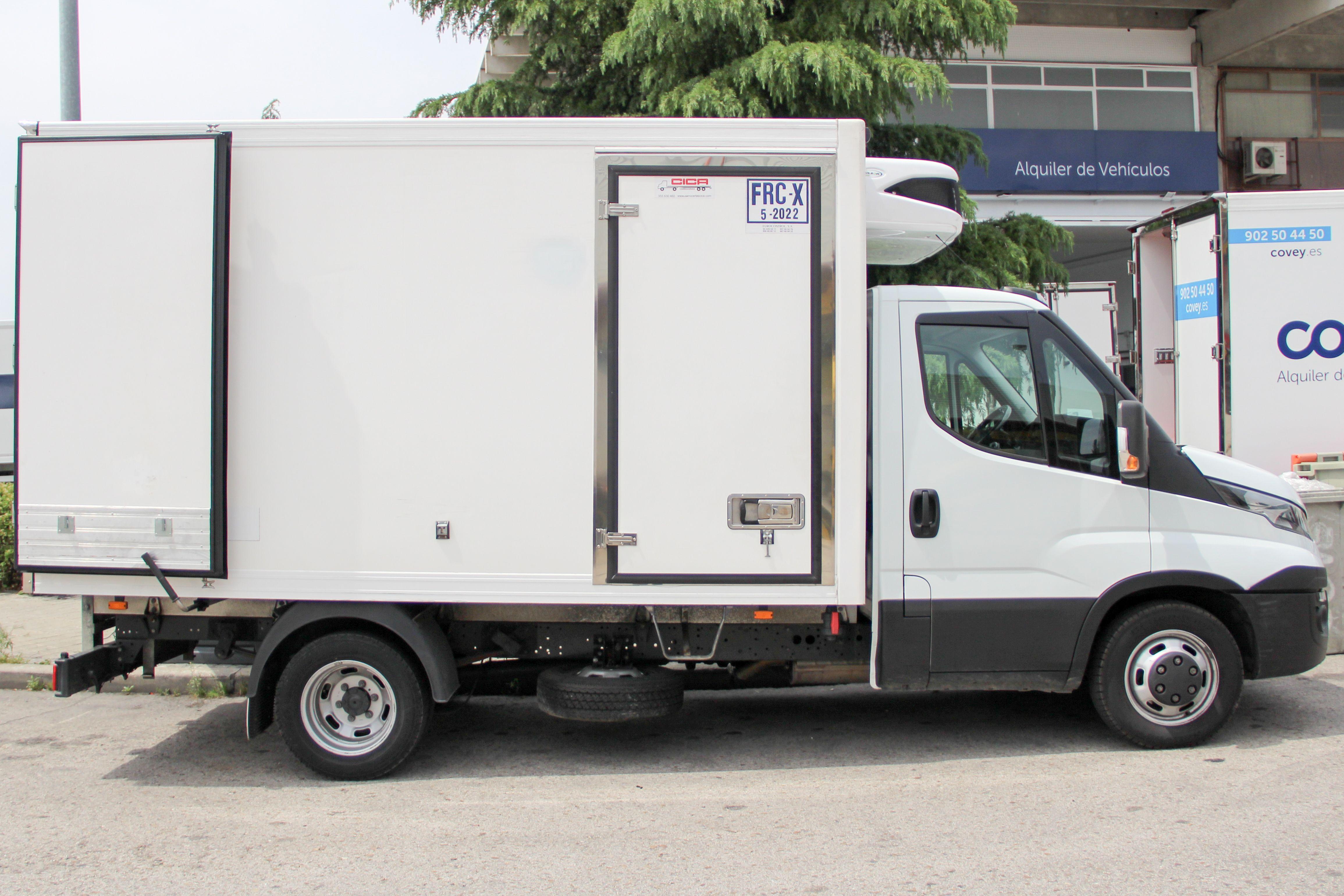 Camiones frigoríficos en Alcalá de Henares