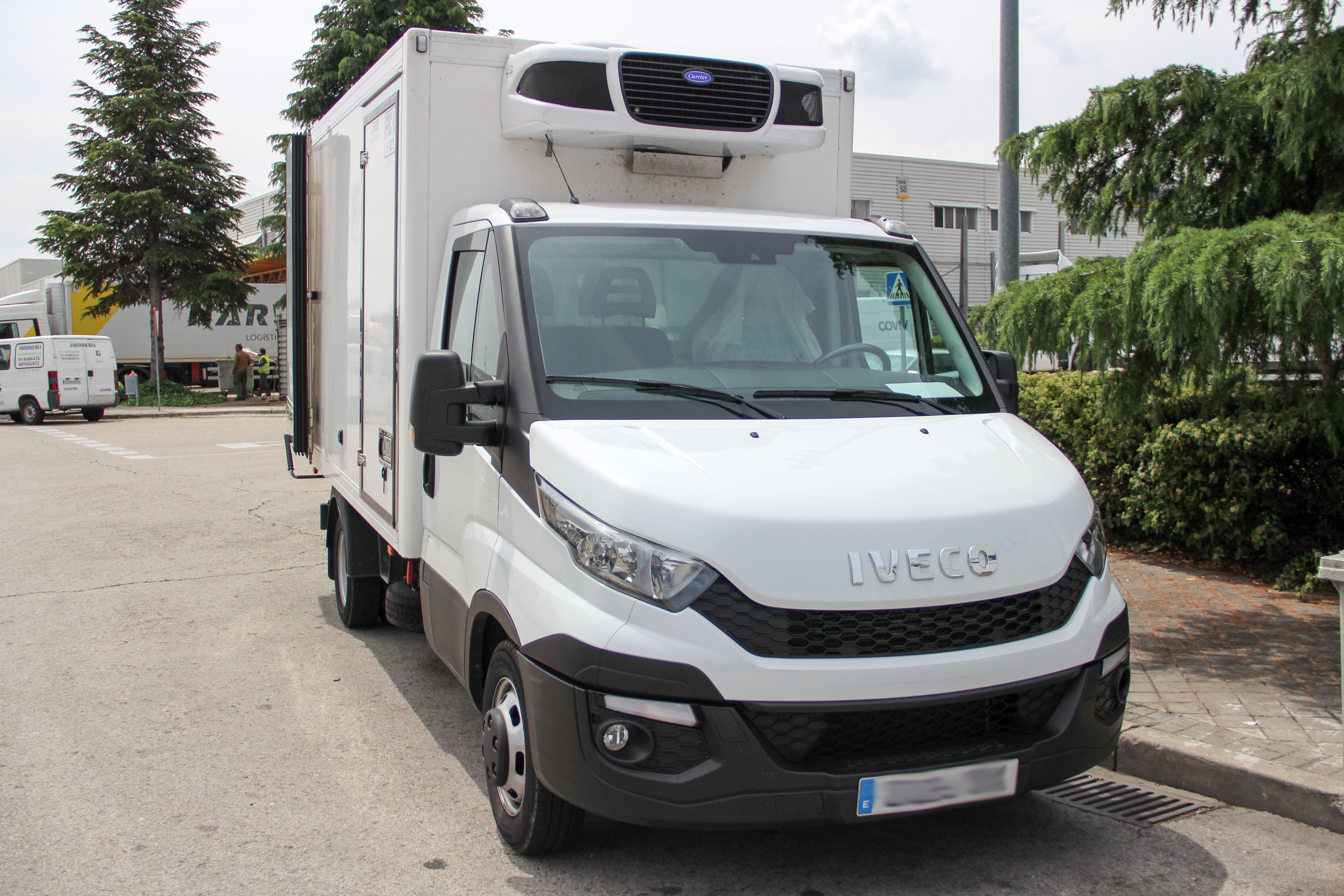 Transporte frigorífico en Alcalá de Henares