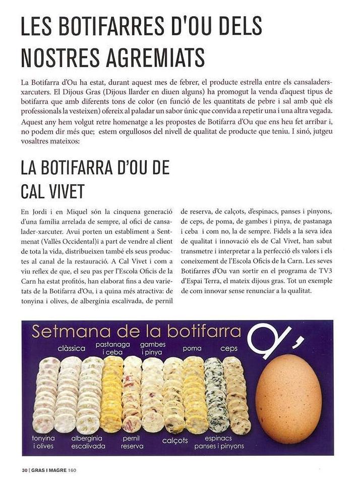 Butifarras de huevos Barcelona