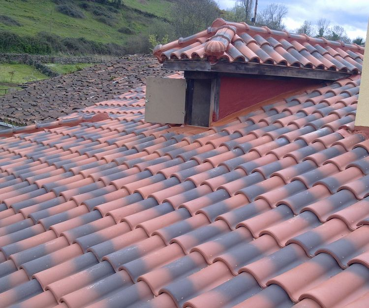 Reforma de tejados en Oviedo