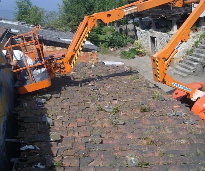Reformas de tejados en Oviedo