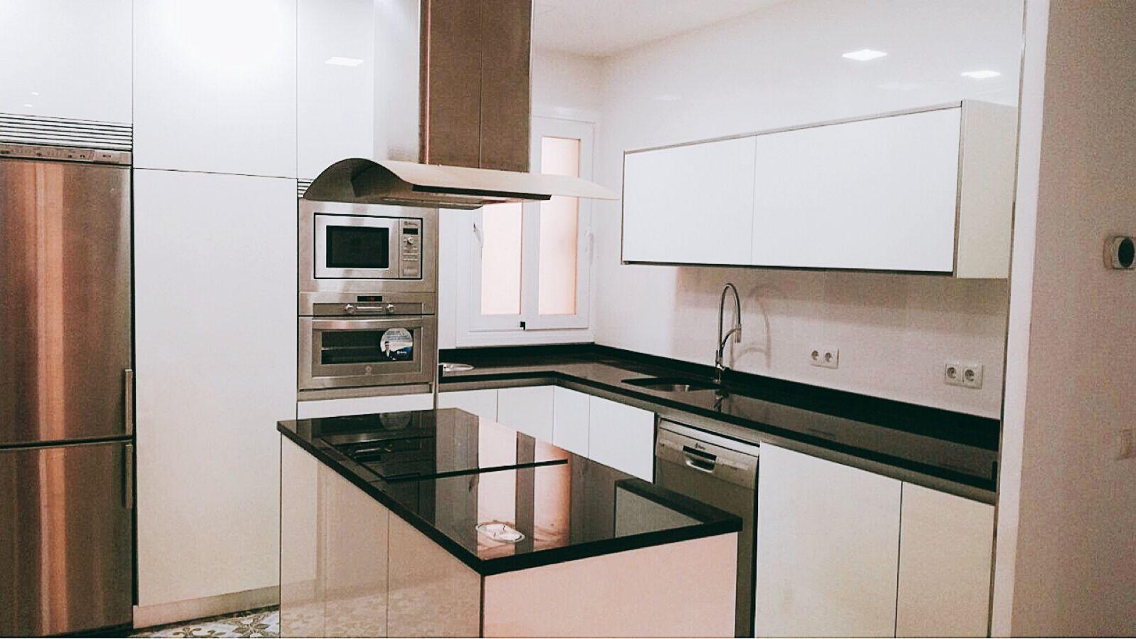 Muebles y electrodomésticos de cocina