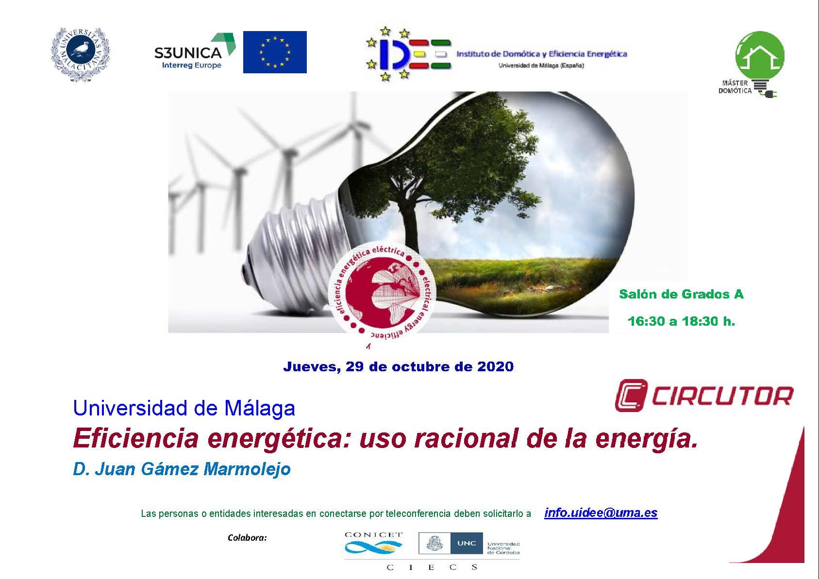 INVITACION UMA 29 DE OCTUBRE 2020 Eficiencia energética. Uso racional de la energía Circutor Europa.jpg