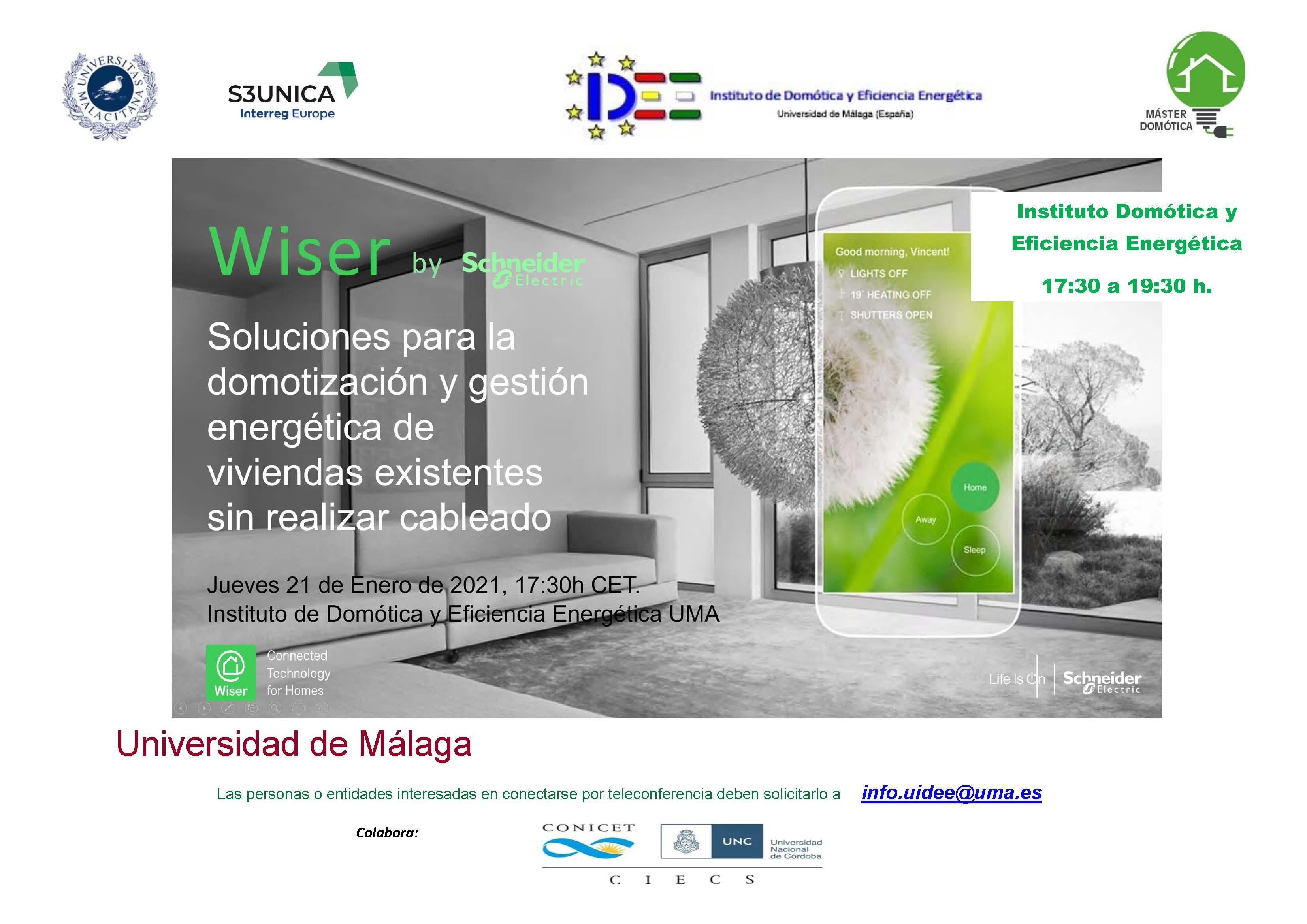 INVITACION UMA 21 ENERO 2021 Soluciones para la domotización y gestión de viviendas existentes Wyser Europa.jpg