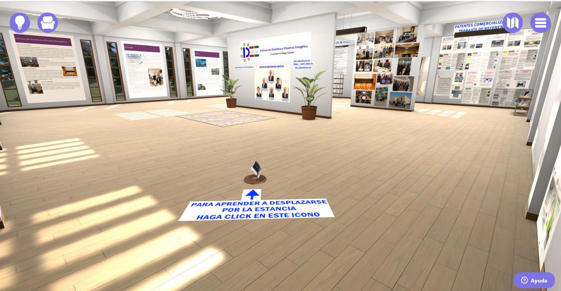 Visita Virtual: Investigación y formación de Instituto Andaluz de Domótica y Eficiencia Energética
