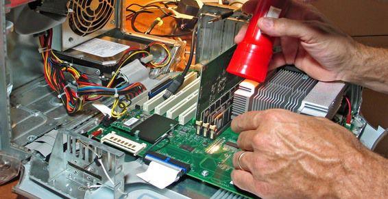 Servicio de reparación y mantenimiento de ordenadores