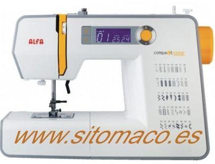 ALFA COMPAKT 500: Catálogo de Sitomaco