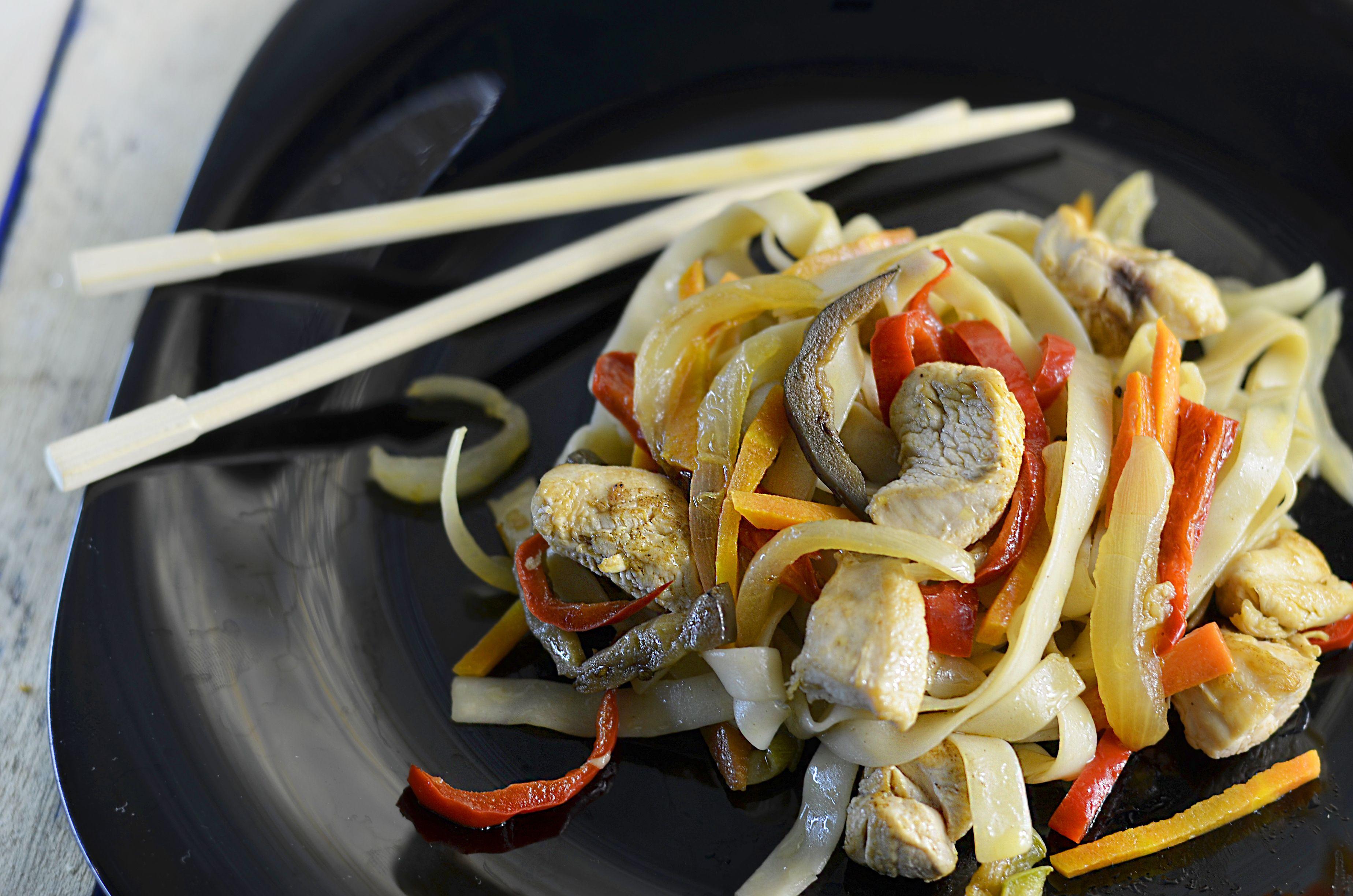 Auténtica comida china