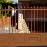 Cancelas de hierro en Illescas, Toledo