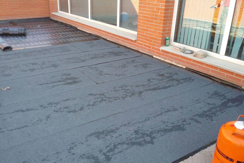 Trabajos de impermeabilización de cubiertas