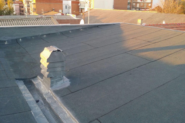 Trabajos de aislamientos de tejados