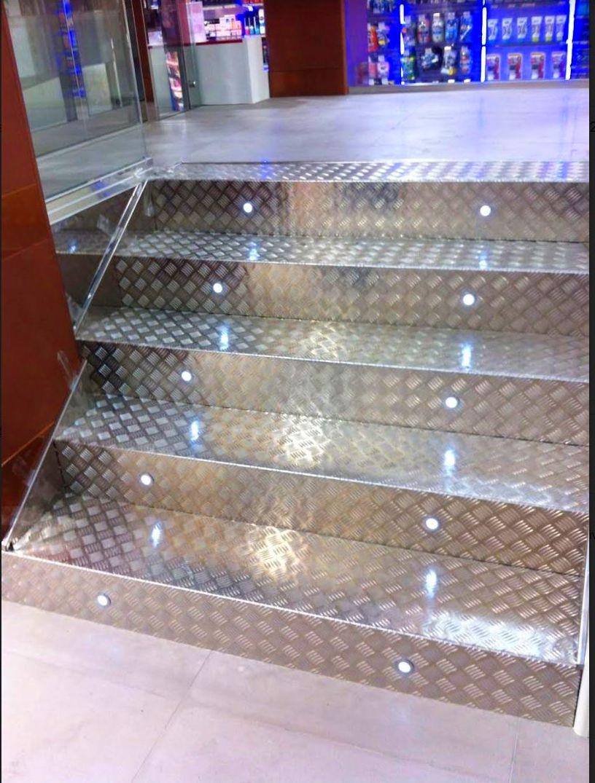 Escaleras acero inoxidable Asturias