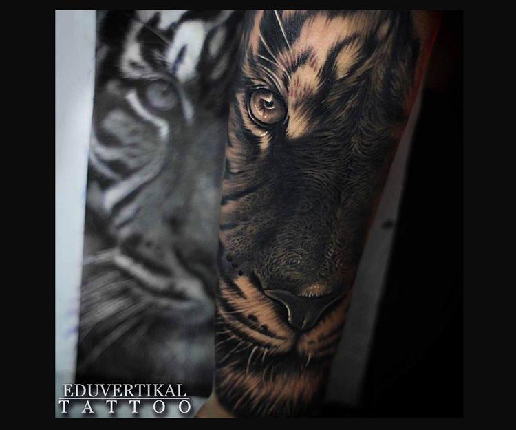Tatuaje Lion