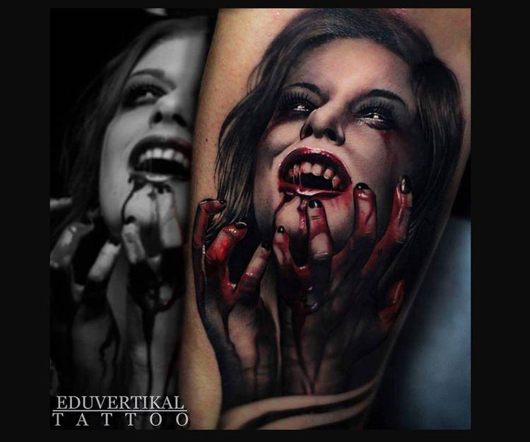 Tatuaje Vampire