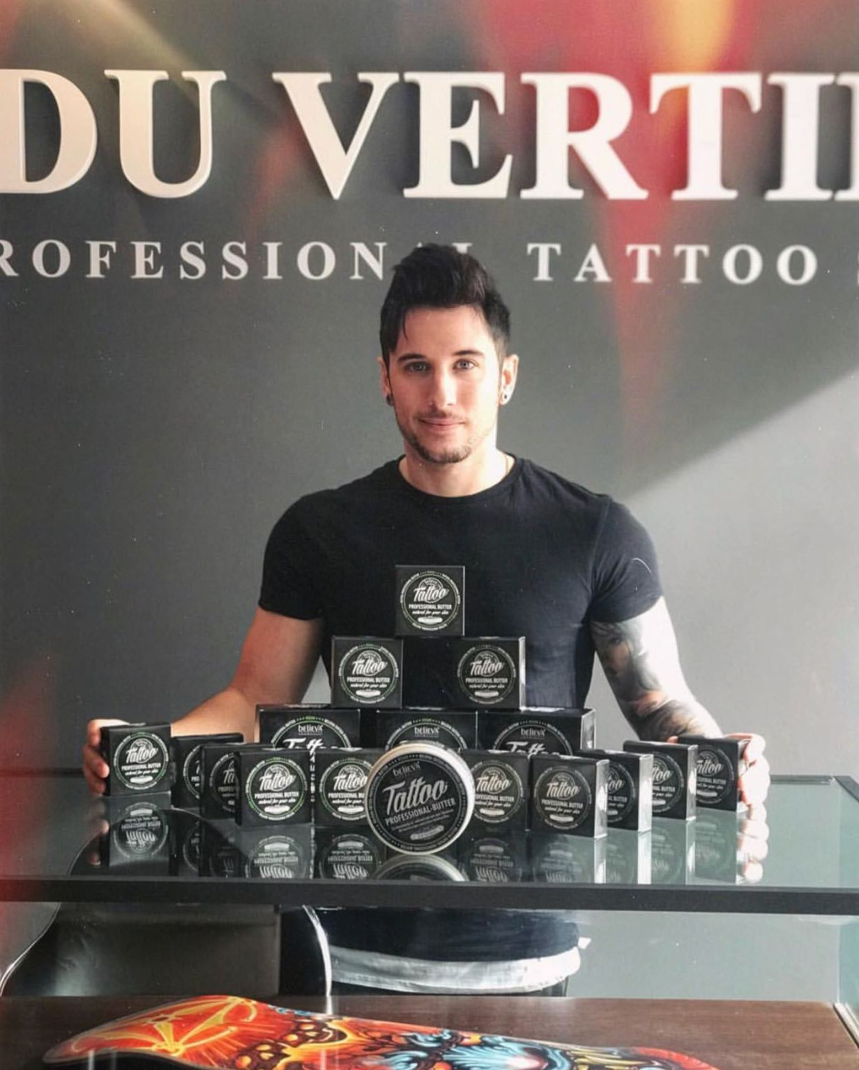 • NEW SPONSOR  PARA VERTICAL TATTO