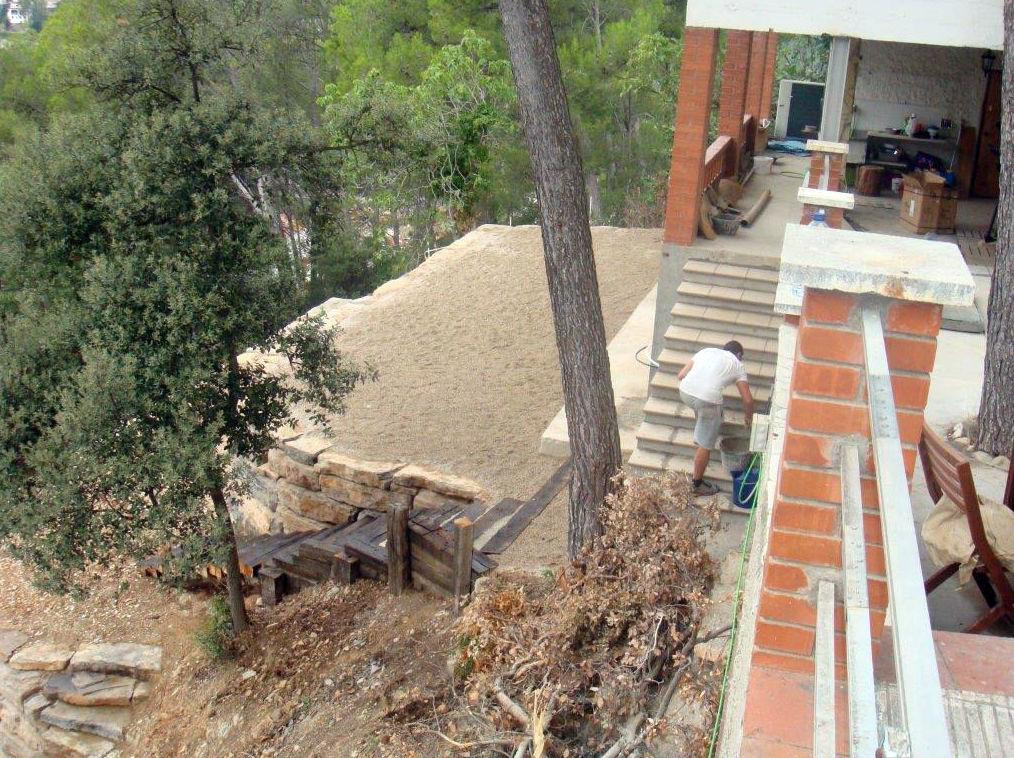 Construcciones y excavaciones Andrés Vila: trabajos de paletería