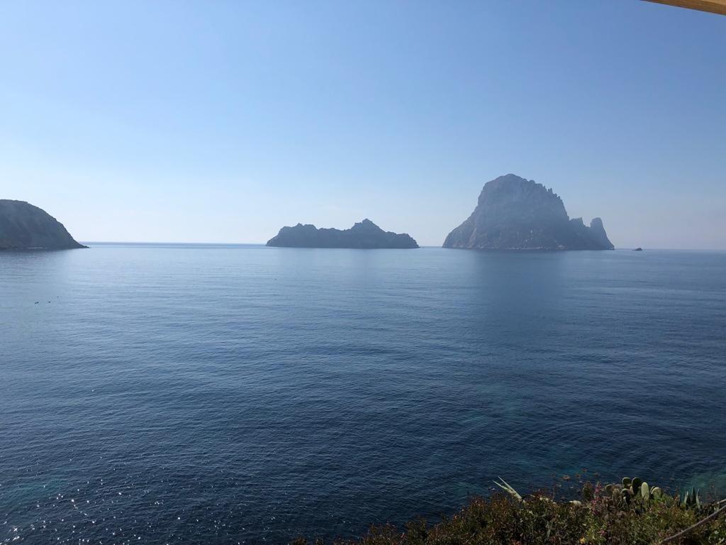 Restaurante con excelentes vistas en Ibiza