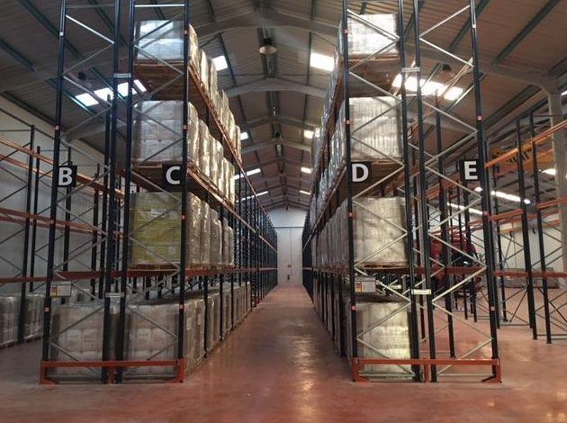Almacenaje de mercancías: Servicios de Grupo Logístico Albacete