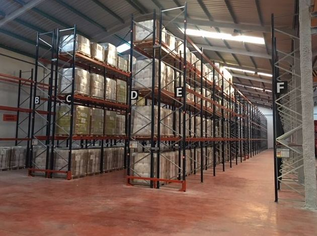 Almacenamiento de mercancías paletizadas: Servicios de Grupo Logístico Albacete