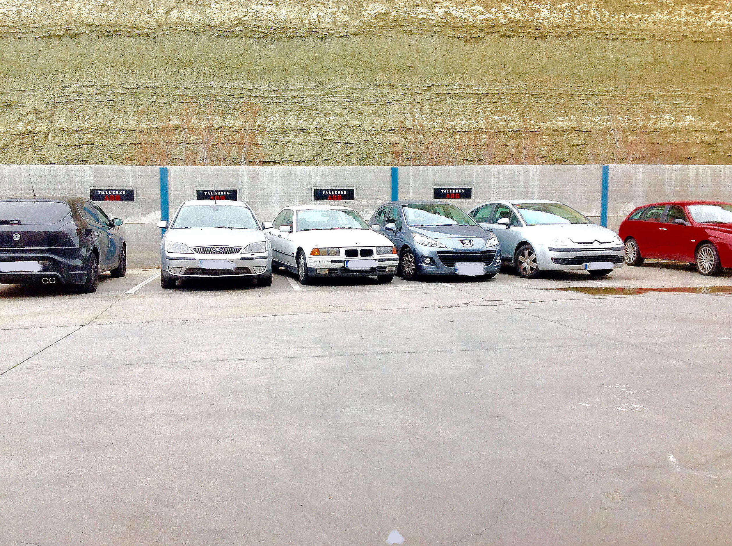 Parking privado Aparcamiento clientes