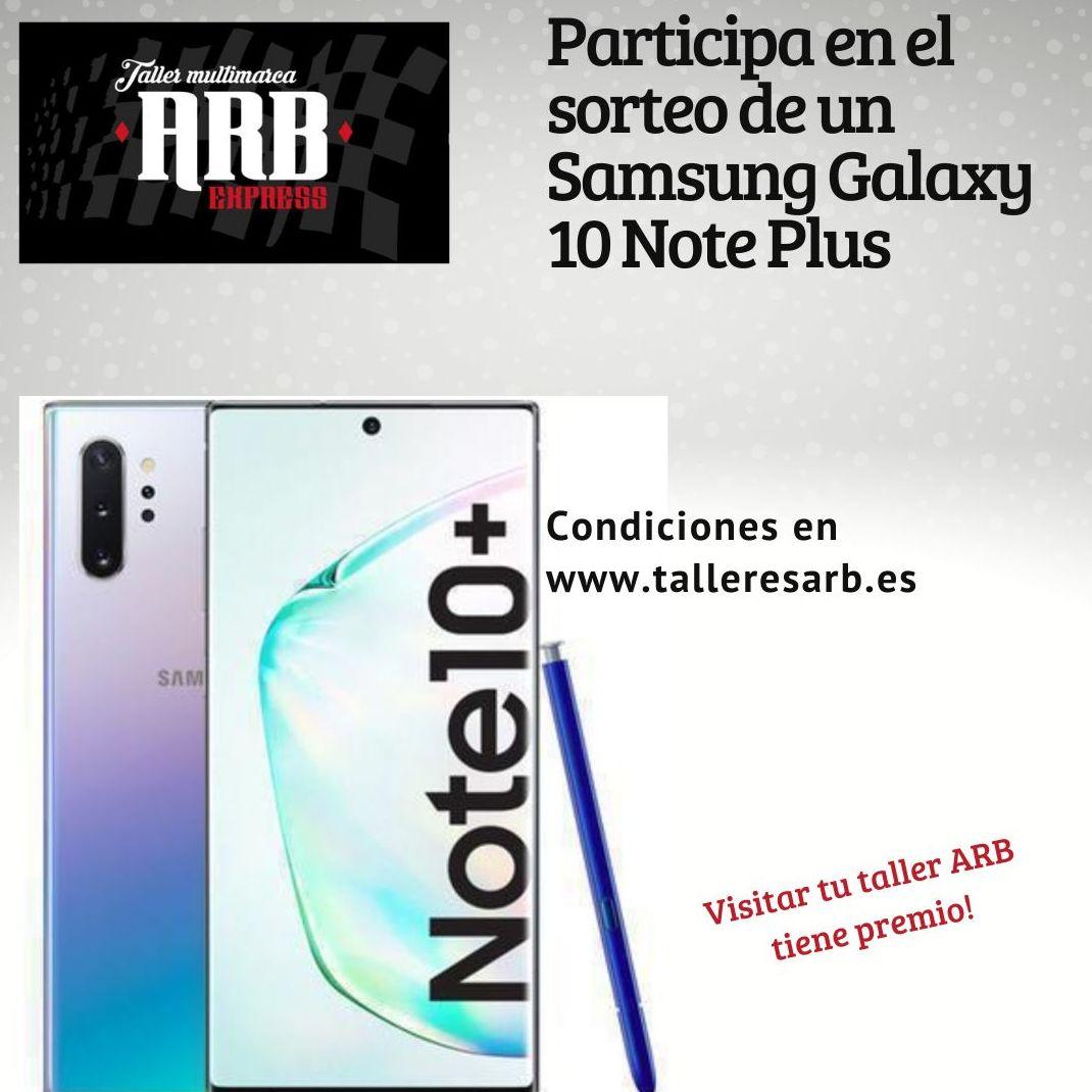 Sorteo Samsung Galaxy 10 Note Plus
