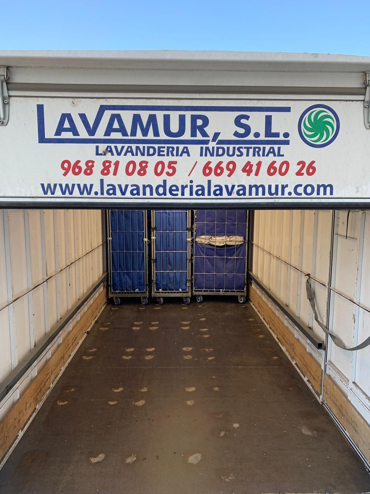 Foto 3 de Lavanderías industriales en Llano de Brujas | Lavamur