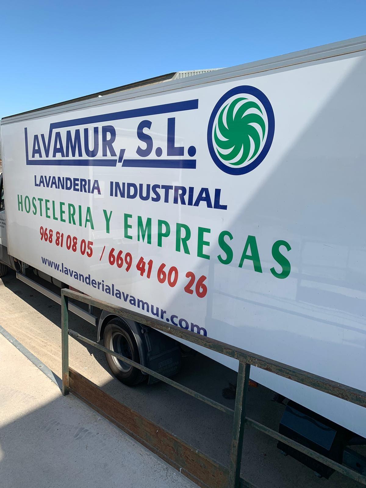Foto 1 de Lavanderías industriales en Llano de Brujas | Lavamur