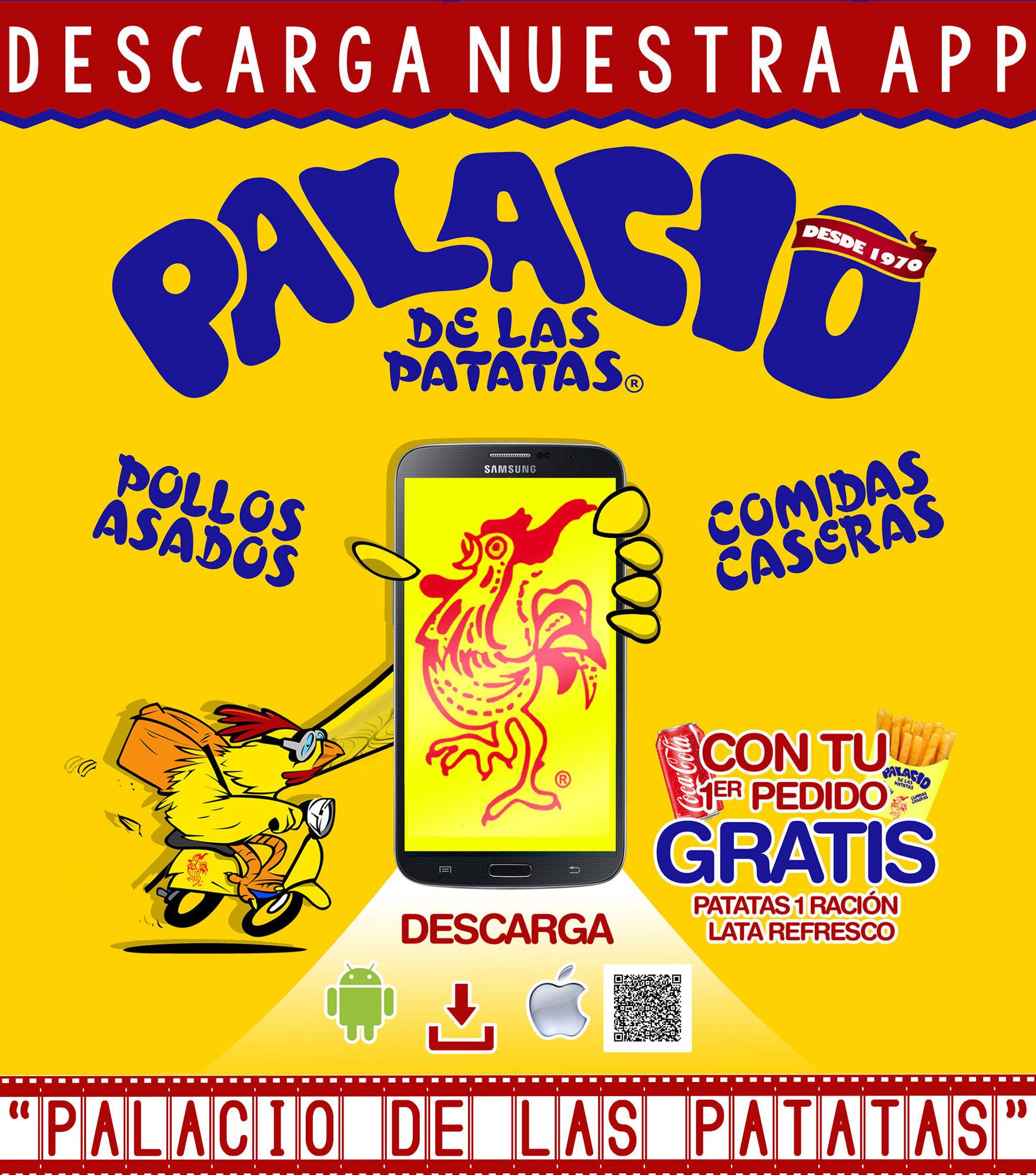 """APLICACIÓN """"PALACIO DE LAS PATATAS®"""""""