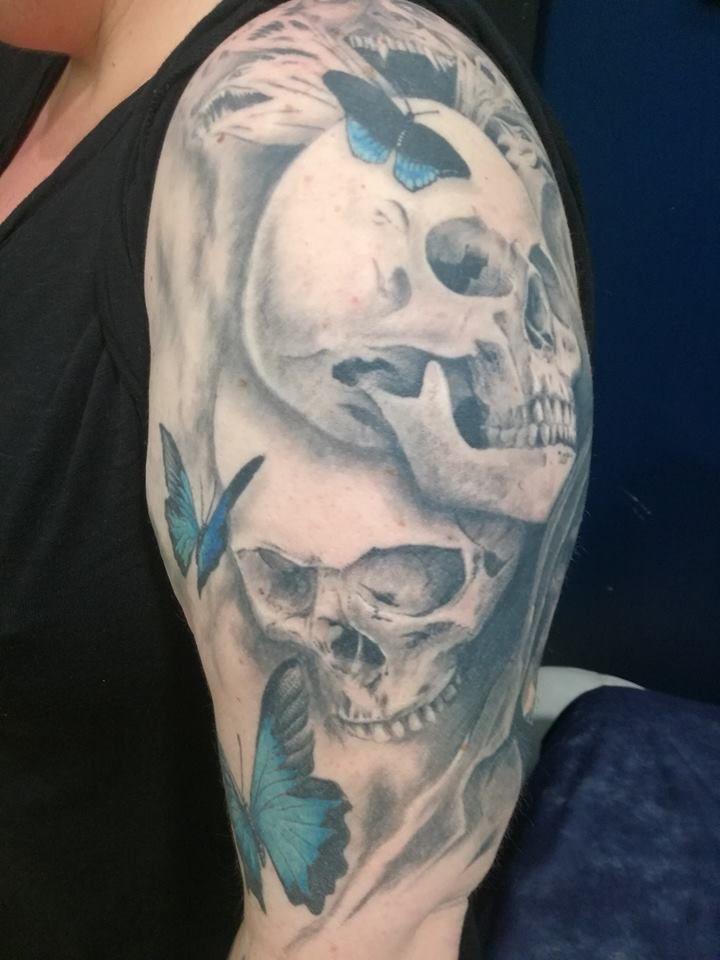 Tatuaje black and grey San Sebastián