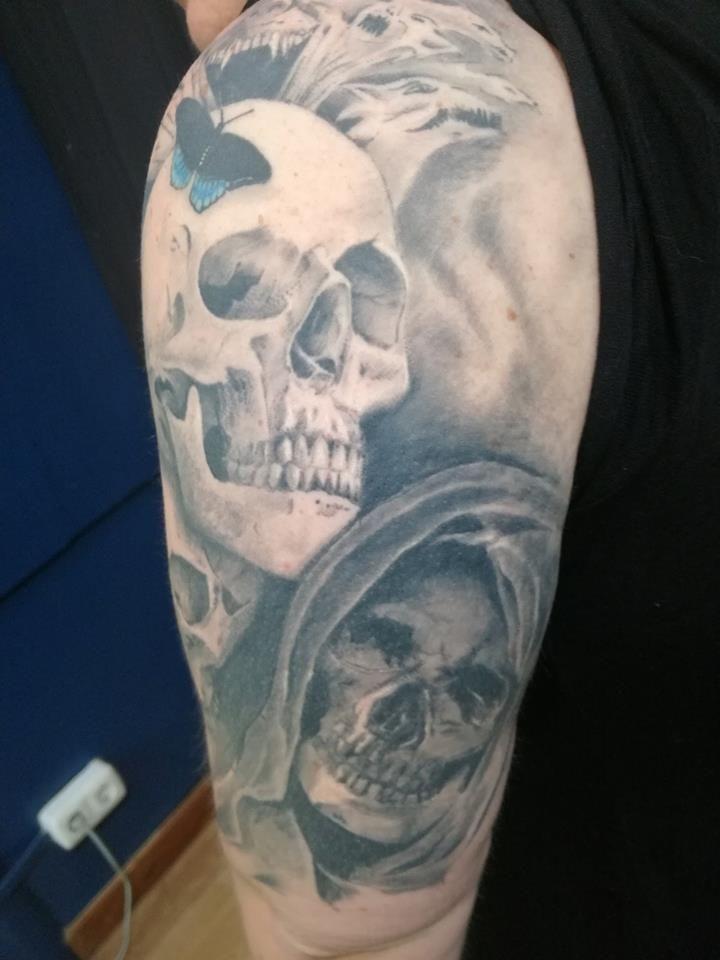 Black and Grey: Tatuajes de Jairo Tattoo Studio